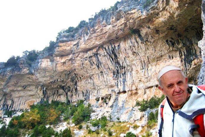 Papa scalatore
