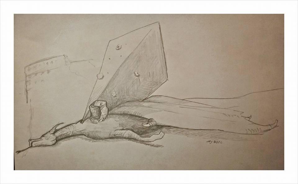 Disegno Alberto Graia